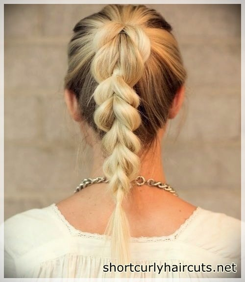 Easy and Quick Hairstyles You Will Seen New - easy and quick hairstyles 2