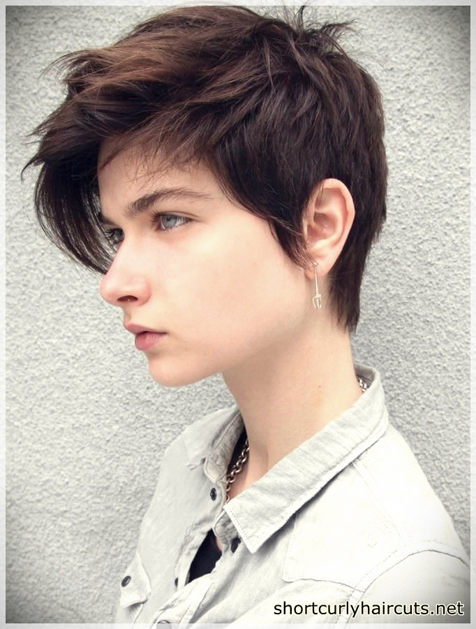 Best Pixie Haircuts for Round Faces - pixie haircuts for round faces 24