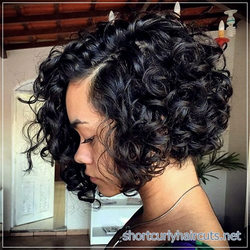Look Absolutely Different by Trying Out The Curly Short Hairstyles Women 2018 - curly short hairstyles women 2018 4