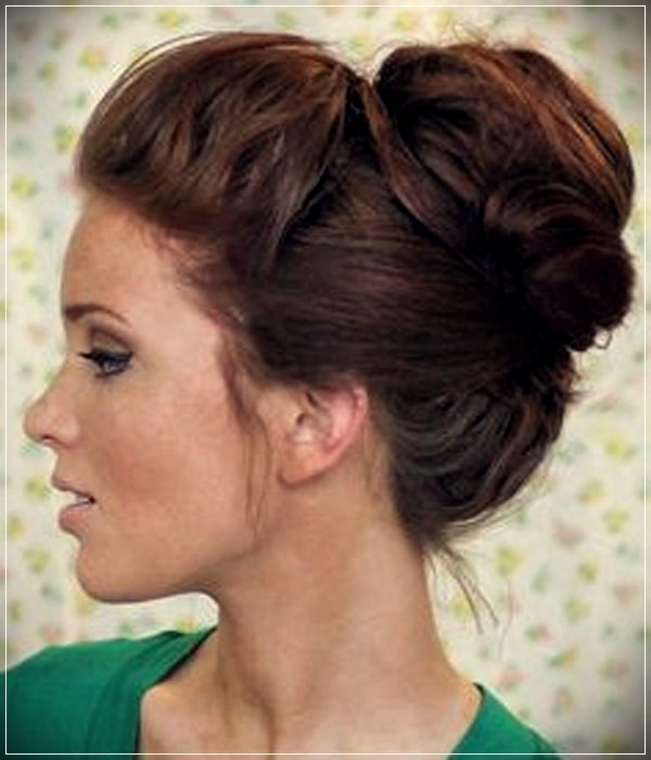 Different types of updos for short hair - updos for short hair 6