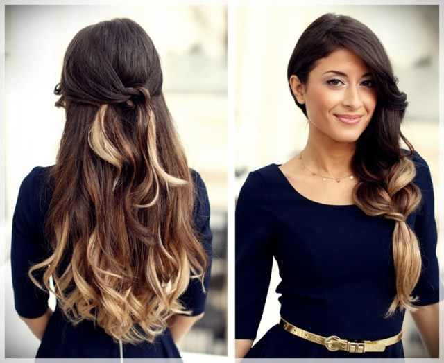 DIY: Fast and easy hairstyles - styling ideas with instructions - DIY fast and easy hairstyles 22