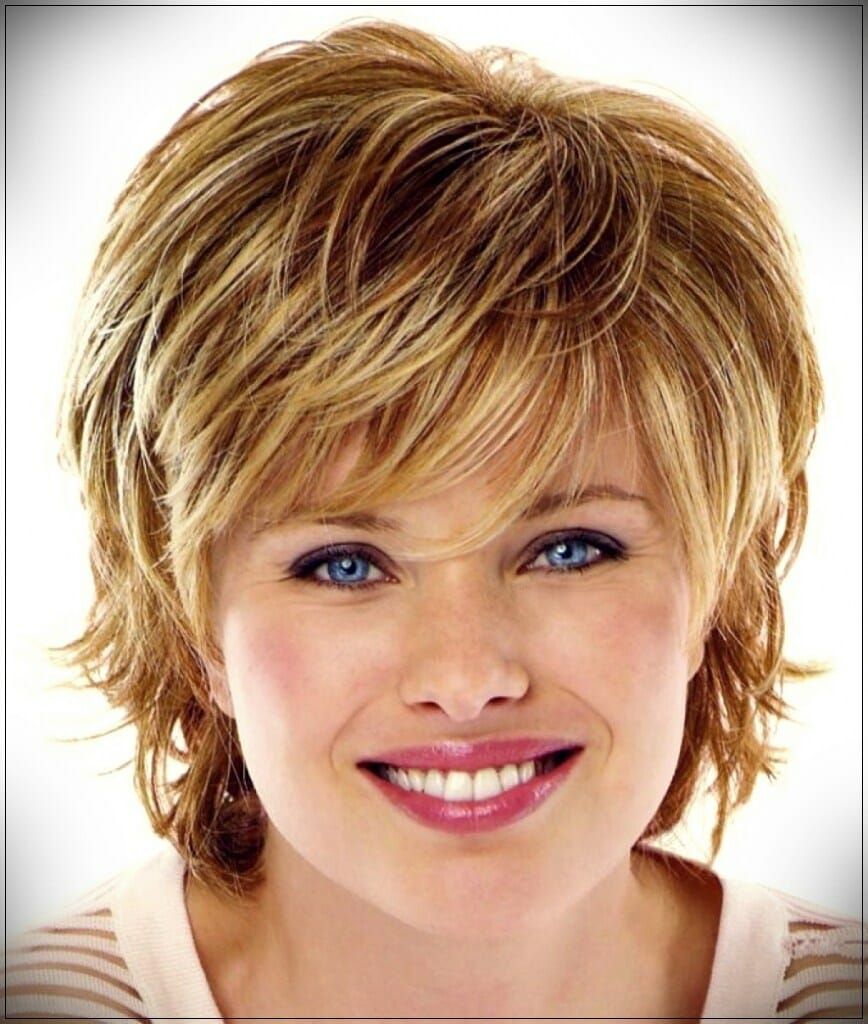 short hairstyles for round faces 3 - Correct hairstyles for your face type