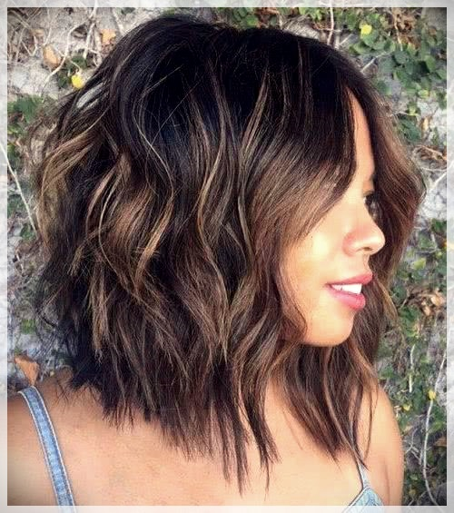 Haircuts for Round Face 2019: photos and ideas - Haircuts for Round Face 2019 9