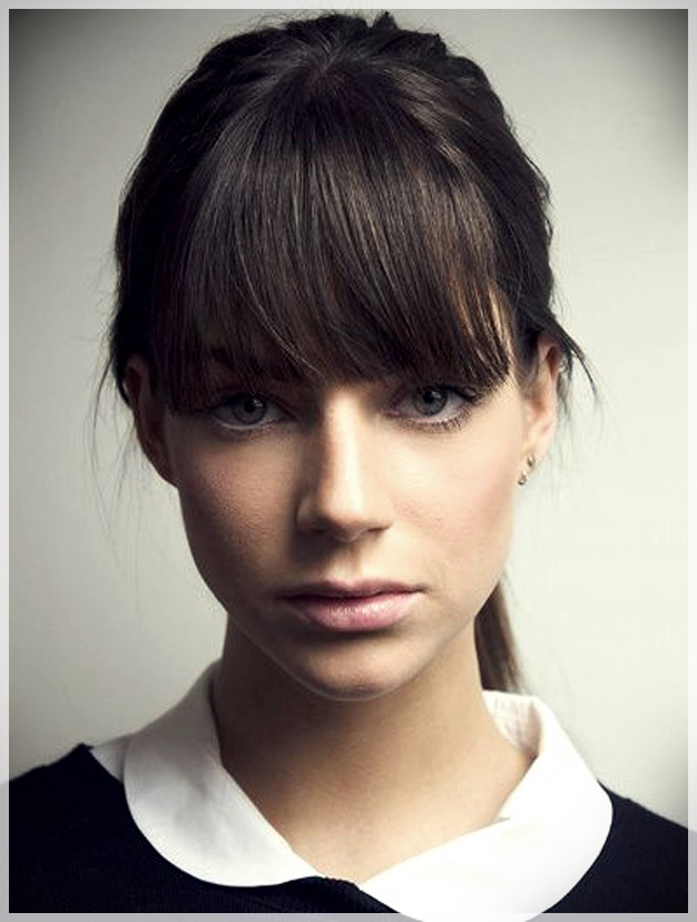 16 Hair Bangs Ideas - hair bangs ideas 15
