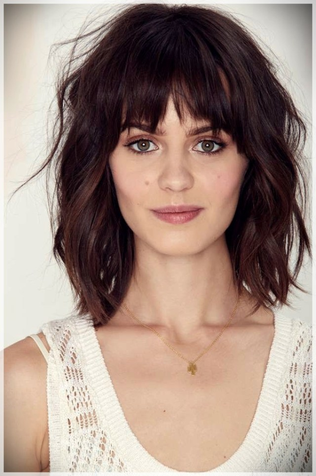 16 Hair Bangs Ideas - hair bangs ideas 8