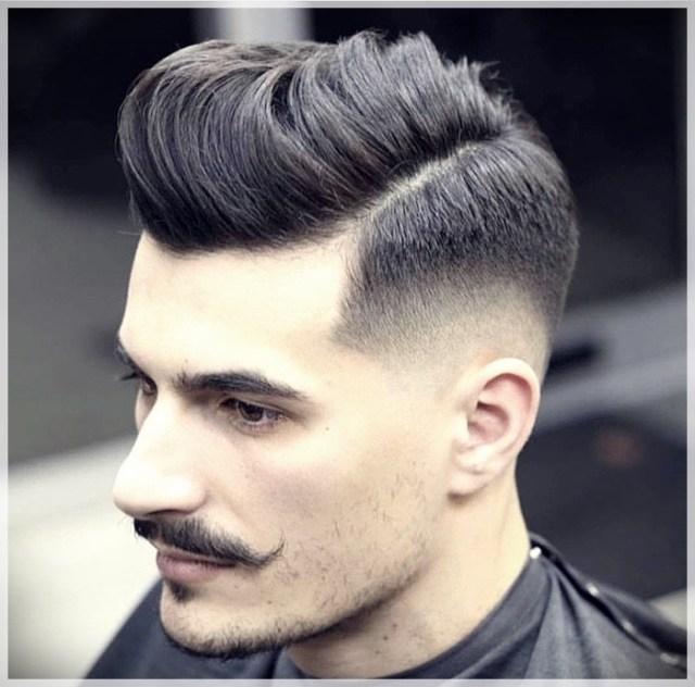 Trendy male cuts. Pompadour, the cut for men that always comes back into fashion - pompadour 10