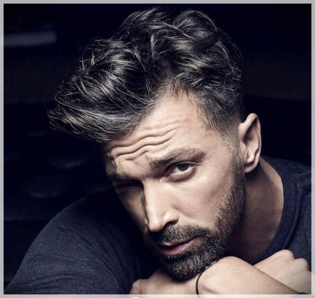 Trendy male cuts. Pompadour, the cut for men that always comes back into fashion - pompadour 5