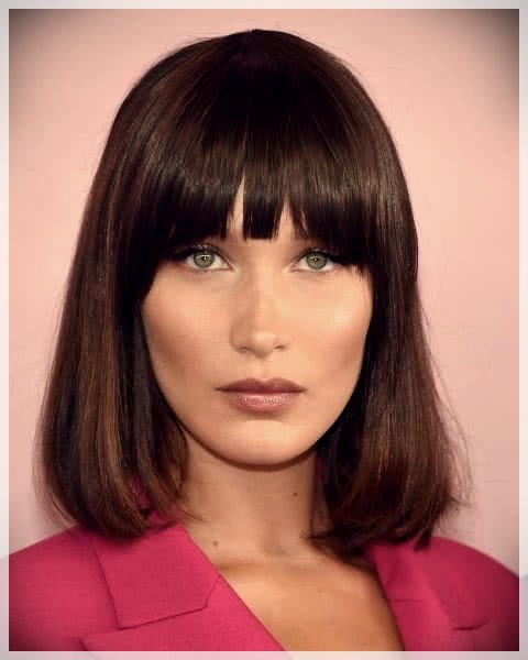 Haircuts with bangs 2019: photos and trends - Haircuts with bangs 2019 9