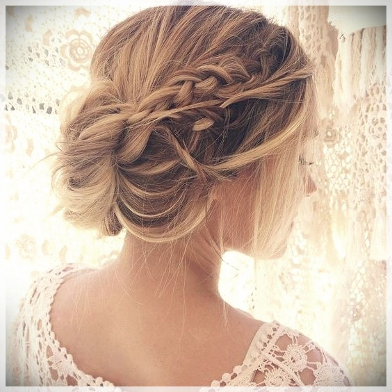Updos 2019 fashion trends - updos 2019 12