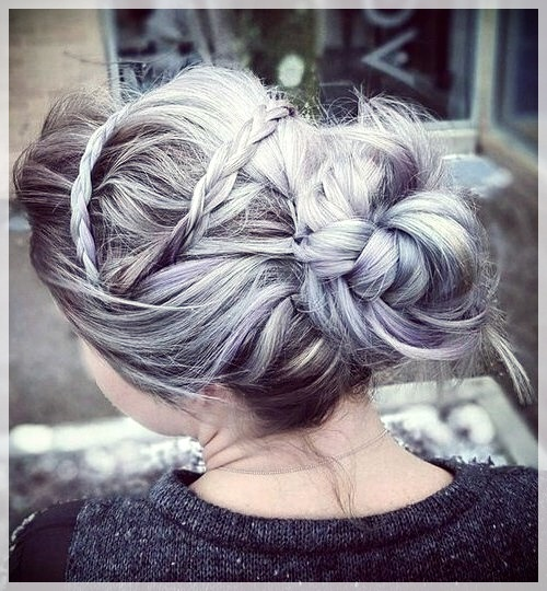 Updos 2019 fashion trends - updos 2019 15