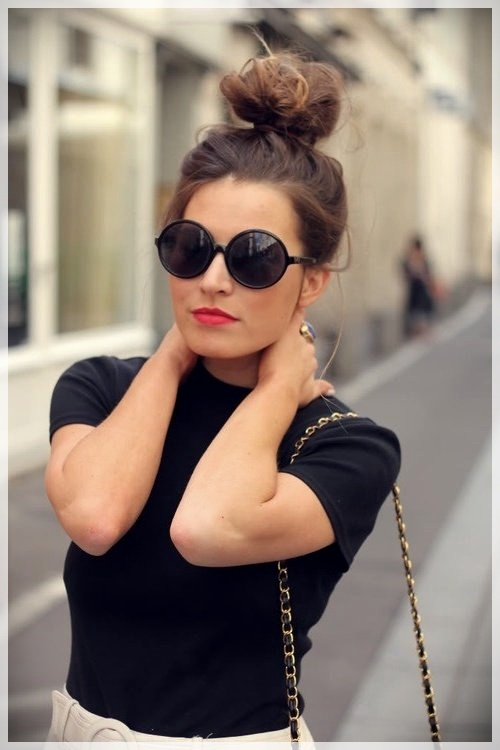 Updos 2019 fashion trends - updos 2019 24
