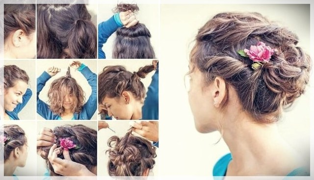 Updos 2019 fashion trends - updos 2019 7