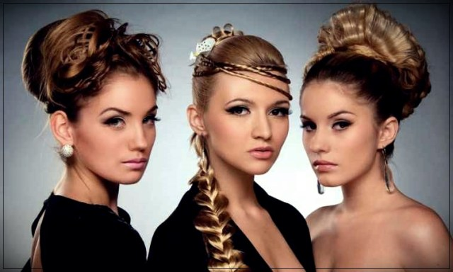 The most beautiful hairstyles for New Year 2019
