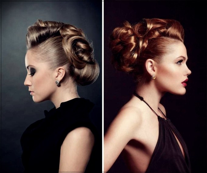 2019 new year's hairstyles: photos and tutorials with the