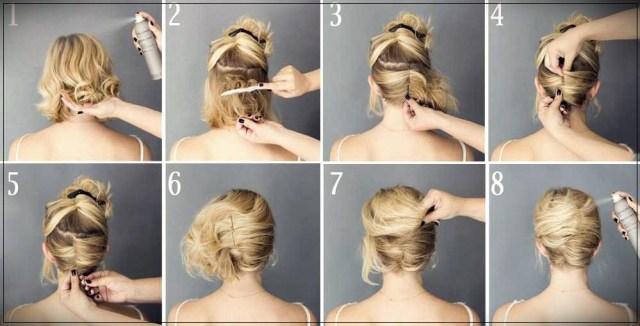 Short and medium hairstyles: beautiful ideas! - Short and medium hairstyles 11