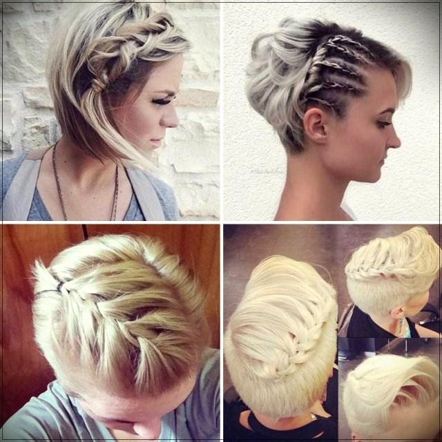 Short and medium hairstyles: beautiful ideas! - Short and medium hairstyles 28