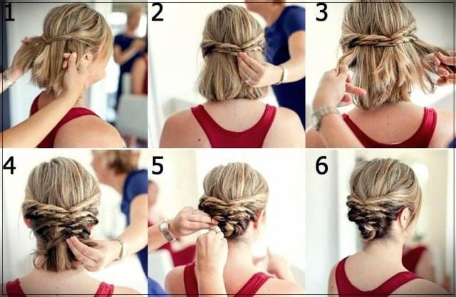 Short and medium hairstyles: beautiful ideas! - Short and medium hairstyles 8