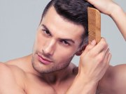 Man hair care