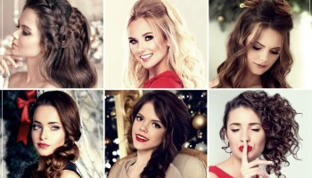 Hairstyles Christmas 2019: the 100 most beautiful! Images and Tutorials