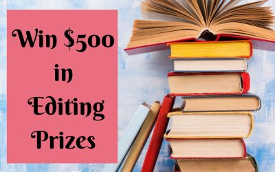 Giveaway: Enter To Win A Spot In Book Editing Blueprint & Free Edit #IndieAuthor #AmWriting