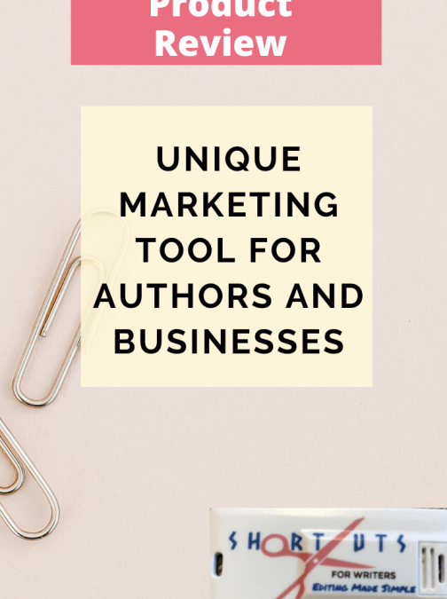 Unique Marketing Tool For Authors And Businesses