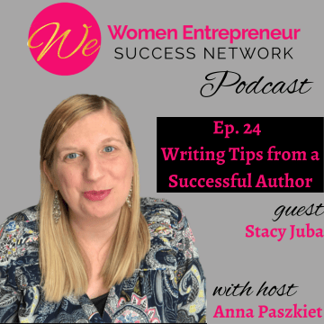 Writing Tips From A Successful Author Podcast Episode