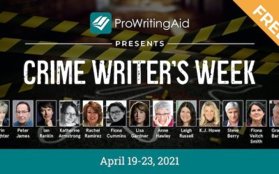 Free Crime Writers Week For Mystery, Suspense, And Thriller Authors – April 19-23