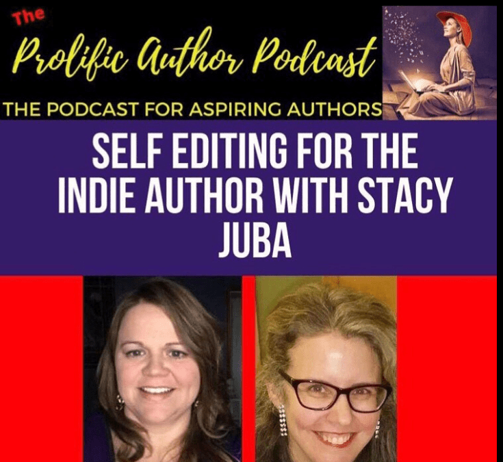 Self-Editing Tips For The Indie Author Podcast Interview @lkhillbooks