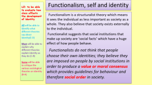 Self and Identity PowerPoint: Original version