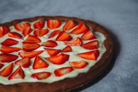 strawberry-cake-tart-pie-83262