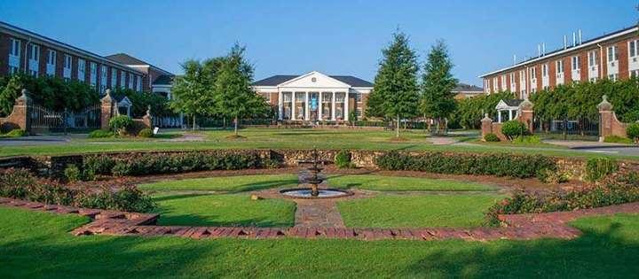 The front circle at Shorter University