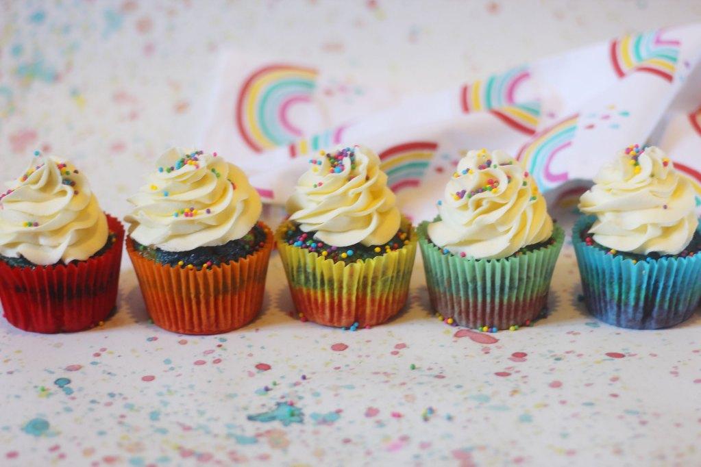 Rainbow Cupcakes Example 6