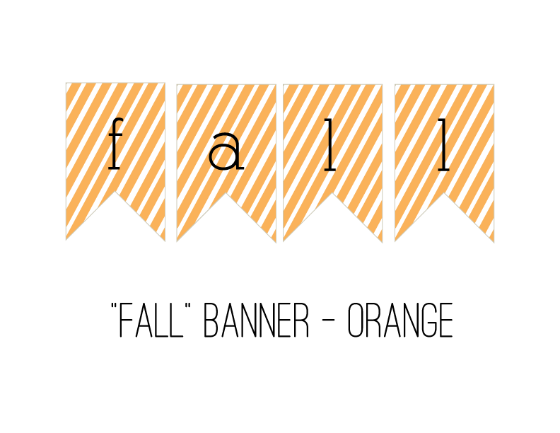 picture relating to Fall Banner Printable referred to as Slide\u201d Banner Free of charge Printable Limited Avoid Strategies