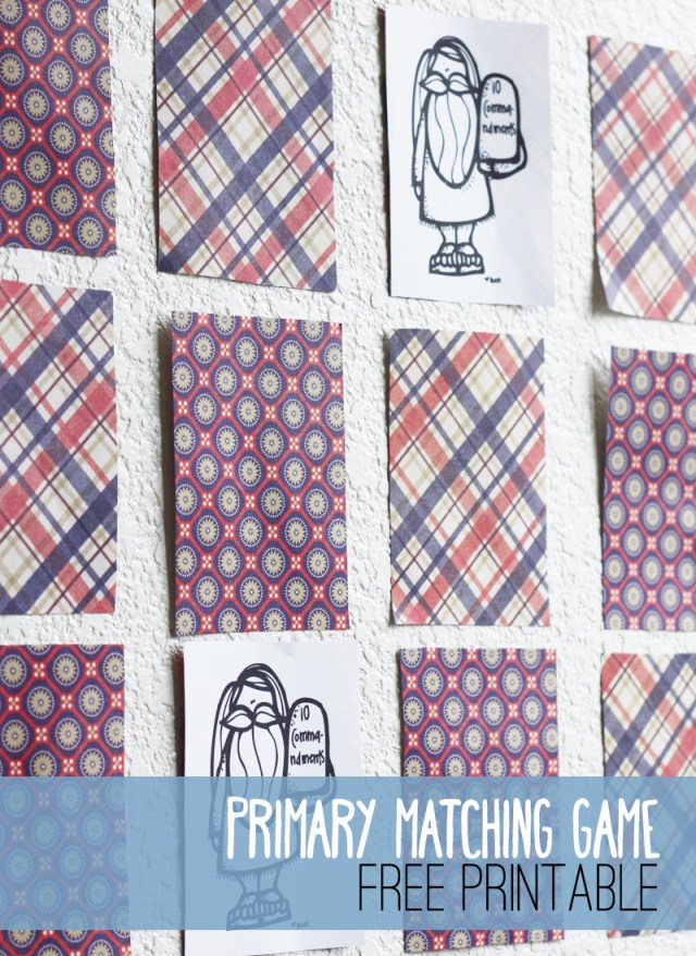 Primary Matching Game