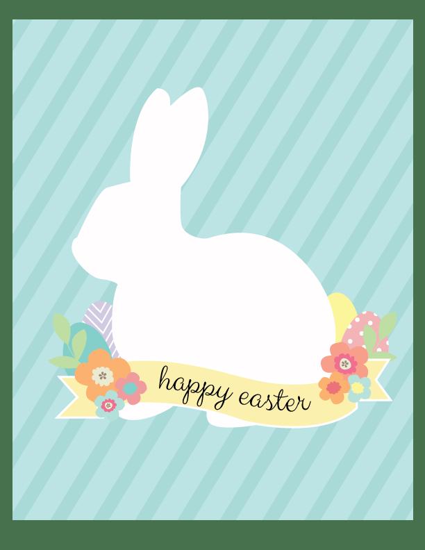 Easter-Bunny-Print-Display