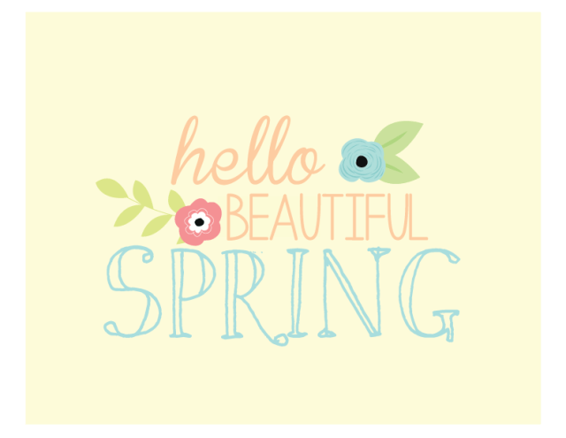 Hello-Beauitful-Spring-yellow-display