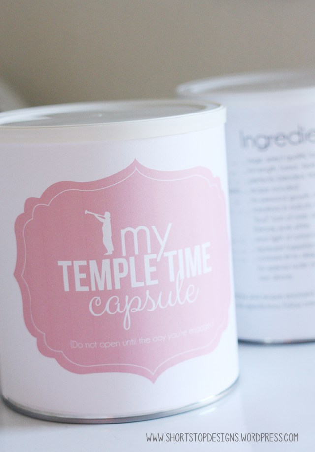 Time Capsule Definition Meaning: Temple Time Capsule Printables