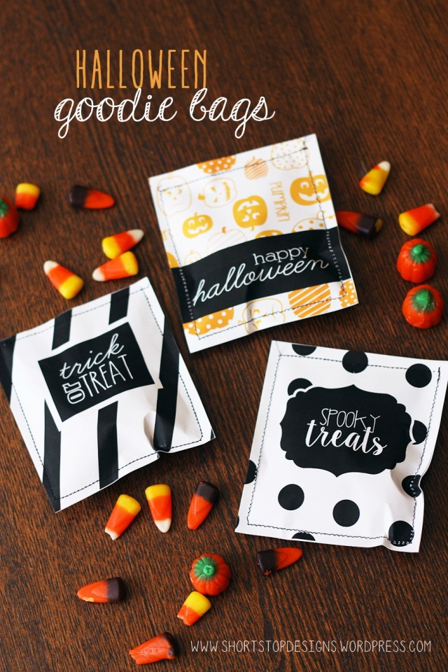 Halloween Goodie Bags Display