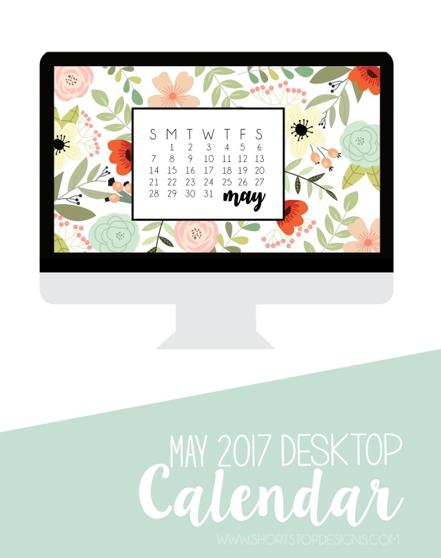 May Desktop Calendar Download
