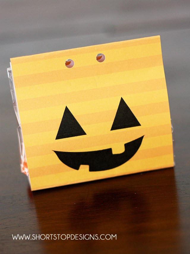 Halloween Pumpkin Treat Bags