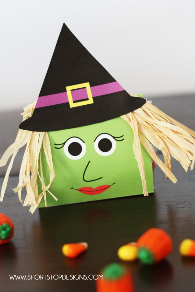 Witch Halloween Treat Bag
