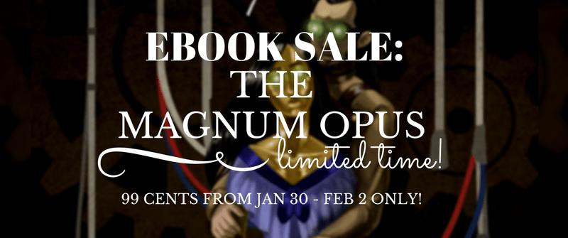 Ebook Sale: The Magnum Opus by Deina Furth