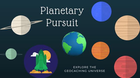 geocaching shortyknits planetary pursuit