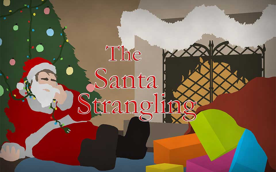 The Santa Strangling Interactive Mingle Murder Mystery