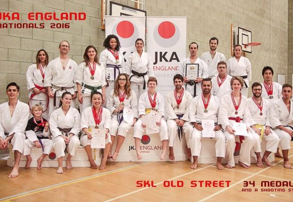 SKL Shotokan Karate - Wins 37 Medals at the National Championships