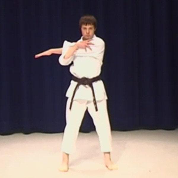 karate stretching