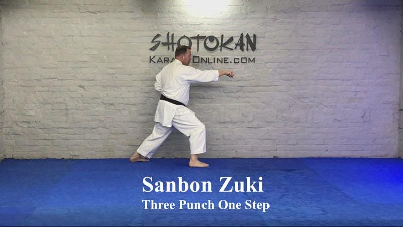 sanbon zuki