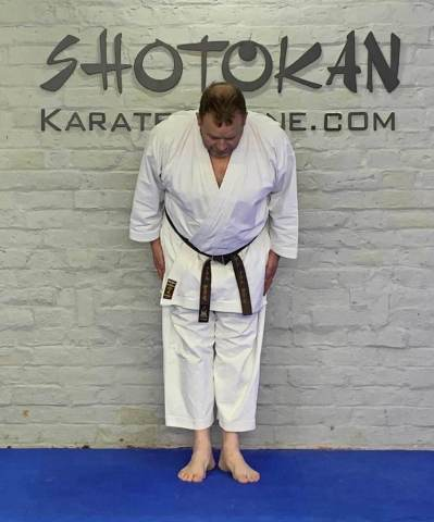 the karate bow