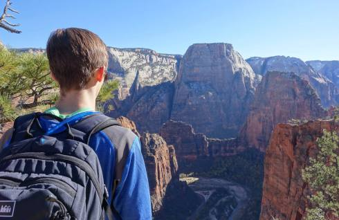 Kyle on Angel's Landing