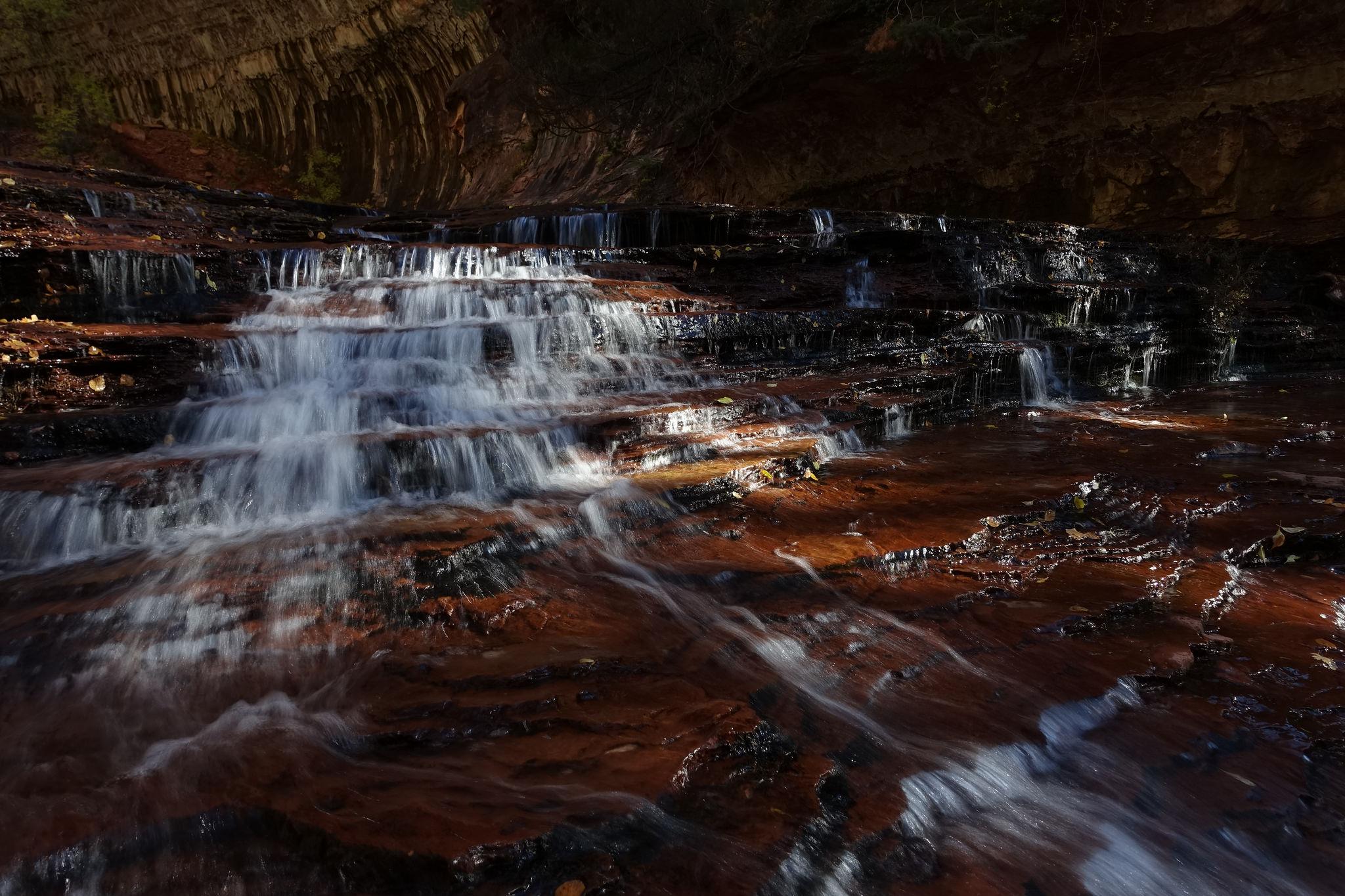 Red Waterfalls